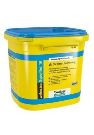 Гидроизоляция вебер ветонит Superflex 10 30 кг