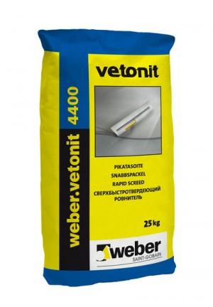 Вебер ветонит 4400 Ремонтный ровнитель для пола 20 кг