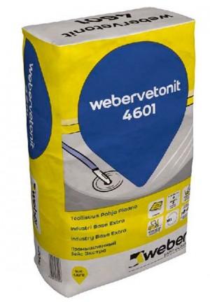 Вебер Ветонит 4601  Базовый промышленный наливной пол 20 кг.