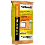 Вебер Ветонит профи плюс клей для керамогранита 25 кг Vetonit Profi+