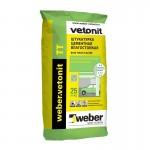 Вебер Ветонит тт штукатурка цементная влагостойкая 25 кг  Vetonit TT