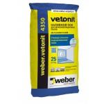 Вебер Ветонит 4350 25 кг.  Наливной пол для звукоизоляционных полов