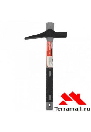 Кирка-молоток каменщика Матрикс 500 гр пластиковая обрезиненная ручка 385 мм