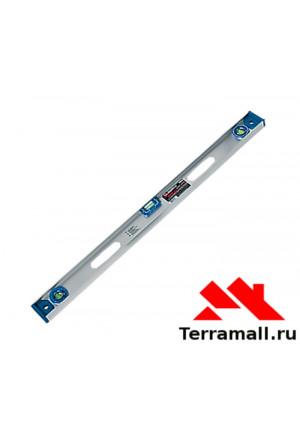 Уровень алюминиевый  Матрикс Рельс 1000 мм, 3 глазка + 1 поворотный